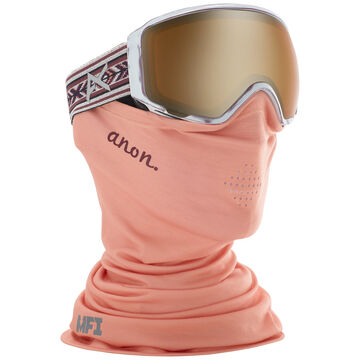 Anon Womens WM1 Snow Goggle + Spare Lens + MFI Facemask