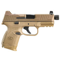 """FN 509 Compact Tactical FDE 9mm 4.3"""" Pistol w/ 3 Magazines"""
