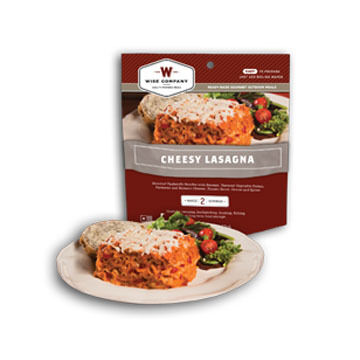 Wise Cheesy Lasagna w/ Meat Meal - 2 Servings