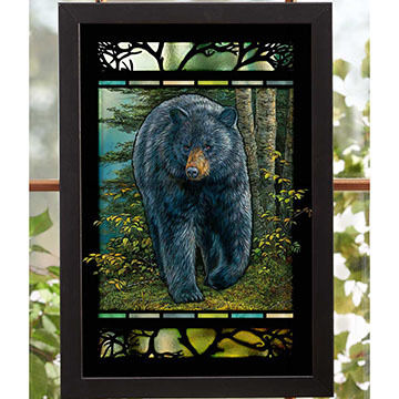Wild Wings Black Bear Wall Art