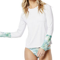 Carve Designs Women's Long-Sleeve Sunset Rashguard Top