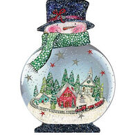 LPG Greetings Snowglobe Ornament Boxed Christmas Cards