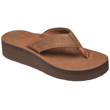 Reef Womens Cushion Butter Wedge Sandal