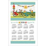 Kay Dee Designs 2018 Enjoy The Ride Calendar Towel