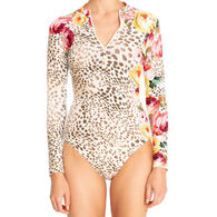 Johnny Was Women's Oksana One-Piece Surf Shirt