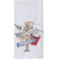 Kay Dee Designs Beach Signs Flour Sack Towel