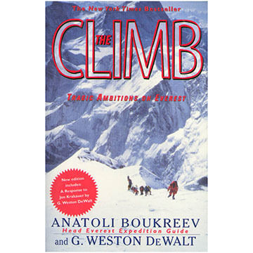 The Climb By Anatoli Boukreev & G. Weston DeWalt