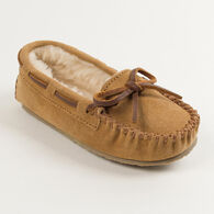 Minnetonka Girls' Cassie Lined Moccasin