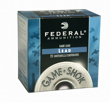 "Federal Game-Shok Upland Game 12 GA 2-3/4"" 1 oz. #8 Shotshell Ammo (25)"