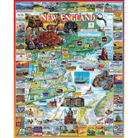 White Mountain Jigsaw Puzzle - Best of New England