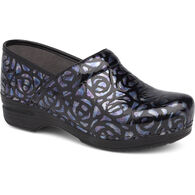 Dansko Women's Night Rose Patent Leather XP Professional Clog