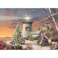 LPG Greetings Christmas Lighthouse Boxed Christmas Cards