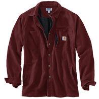Carhartt Men's Rugged Flex Rigby Fleece-Lined Shirt Jac