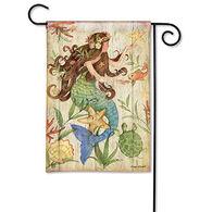 BreezeArt Mermaid Garden Flag