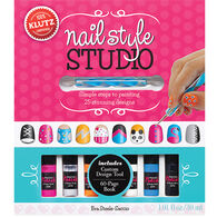 Klutz Nail Style Studio Book Kit by Eva Steele-Saccio