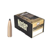 "Nosler Partition 25 Cal. 115 Grain .257"" Spitzer Point Rifle Bullet (50)"