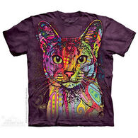 The Mountain Men's Abyssinian Cat Short-Sleeve T-Shirt