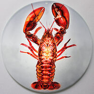 Radiant Art Red Lobster Ornament