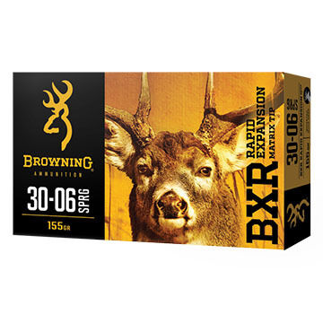 Browning BXR Rapid Expansion 243 Win 97 Grain Matrix Tip Rifle Ammo (20)