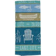Kay Dee Designs Lake Retreat Jacquard Tea Towel
