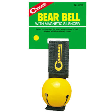 Coghlans Bear Bell w/ Magnetic Silencer