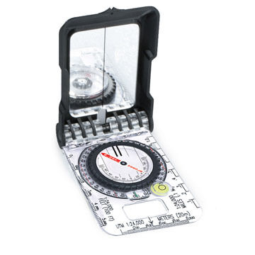 Brunton TruArc 15 Mirrored Professional Compass