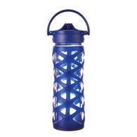 Lifefactory 16 oz. Glass Water Bottle w/ Axis Straw Cap & Silicone Sleeve