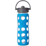 Lifefactory 16 oz. Glass Bottle w/ Straw Cap & Silicone Sleeve