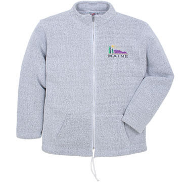 ESY Mens Mountain Logo Full Zip Sweatshirt
