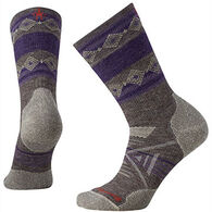 SmartWool Women's PhD Outdoor Medium Pattern Crew Sock