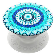 PopSockets Blue Floral Mandala SwapTop PopGrip