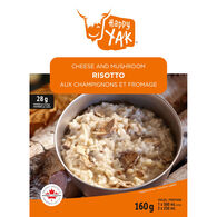 Happy Yak Cheese & Mushroom Risotto - 1 Serving