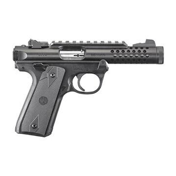 Ruger Mark IV 22/45 Lite Black Anodized 22 LR 4.4 10-Round Pistol