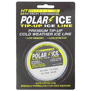 HT Enterprises Polar Vinyl Ice Fishing Line - 25 Yards