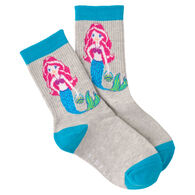 K. Bell Youth Mermaid Crew Sock