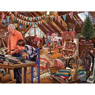 White Mountain Jigsaw Puzzle - Attic Treasures
