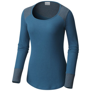 Columbia Womens Along The Gorge Thermal Crew Long-Sleeve Shirt