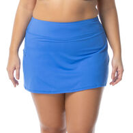 Beach House - Swimwear Anywear Women's Plus Size Emma Pull On Swim Skort
