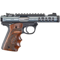 "Ruger Mark IV 22/45 Lite Diamond Gray Anodized Target Laminate 22 LR 4.4"" 10-Round Pistol"