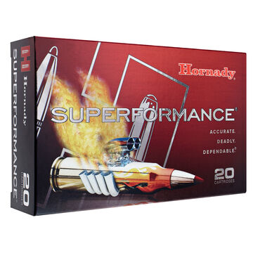 Hornady Superformace 6.5 Creedmoor 129 Grain SST Rifle Ammo (20)