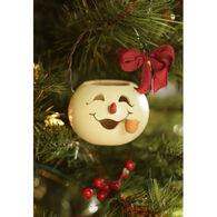 Meadowbrooke Gourds Meadowbrooke Snowman Ornament Basket