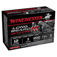 "Winchester Long Beard XR 12 GA 3"" 1-3/4 oz. #5 Shotshell Ammo (10)"