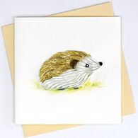 Quilling Card Hedgehog Everyday Card