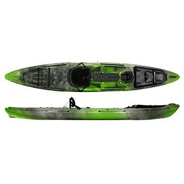 Wilderness Systems Thresher 140 Sit-on-Top Fishing Kayak w/ Rudder - 2016 Model