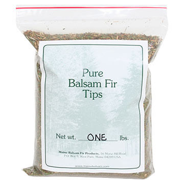 Maine Balsam Fir Balsam Fir Tips, 1 lb.