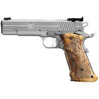 """SIG Sauer 1911 Stainless Super Target 45 Auto 5"""" 8-Round Pistol"""