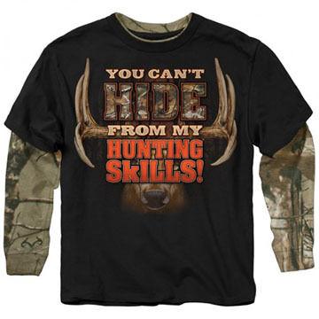 Buck Wear Boys Cant Hide Long-Sleeve Shirt