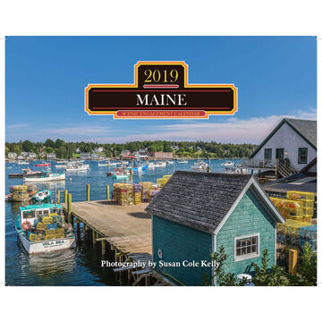 Maine 2019 Wall Calendar by Mahoney Publishing