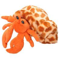 Wild Republic Hug'em Stuffed Animal - Hermit Crab