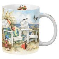 Cape Shore Maine Beach Chairs Shore Mug